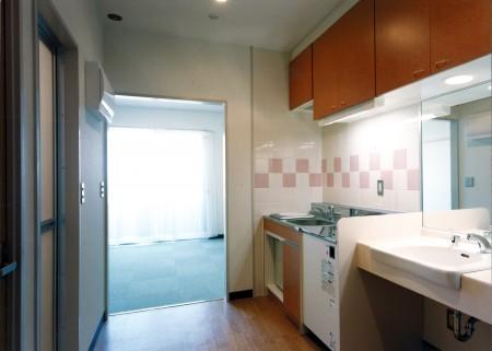 6.4階 居室(キッチン・洗面)
