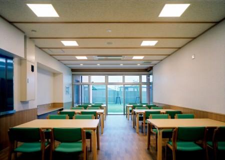 1階 談話室兼食堂